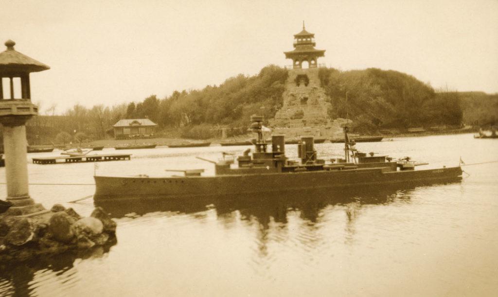 Naval Warefare display at Peasholm Park