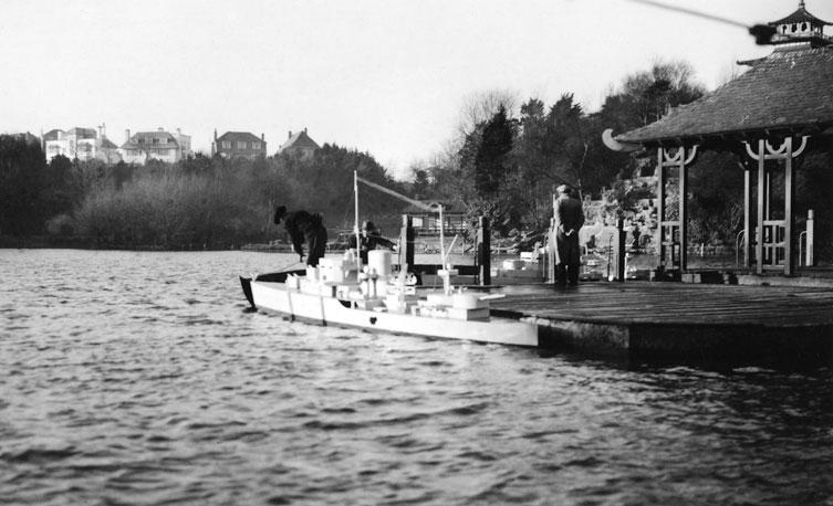Naval Warefare preparations at Peasholm Park