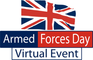 Armed Forces Day Virtual Event Logo