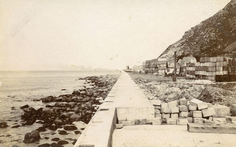 Construction of North Marine Drive