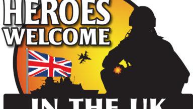 Heroes Welcome logo